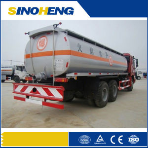 Sinotruk New 2017 25cbm Fuel Tanker Transport Truck pictures & photos