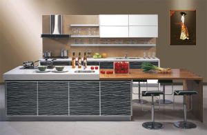 Fashion Acrylic Demet Kitchen Cabinet Design pictures & photos