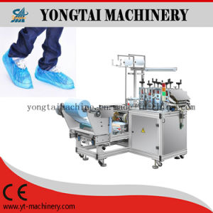 Cleanroom Supplies of Plastic Film Shoe Cover Machine pictures & photos