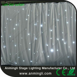 Popular! ! White LED Star Curtain