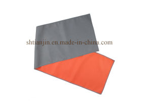 2015 Hotsale Orange Woven Microfiber Fabric Instant Cooling Towel