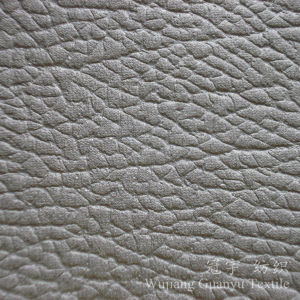 China Upholstery Leather Polyester Suede Cloth Fabric for Sofa