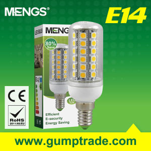 Mengs E14 7W LED Bulb with CE RoHS SMD 2 Years′ Warranty (110110022)