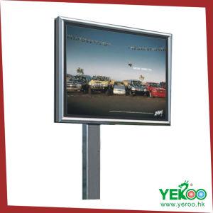 Steel Structure LED Flex Banner Backlit Billboard pictures & photos