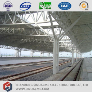 Sinoacme Steel Pipe Truss Structure Roof for Railway Station pictures & photos