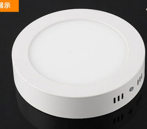 Surface LED Round Panel Light 40mm Height 6W pictures & photos