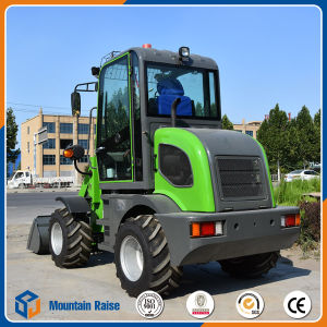 0.8 Ton Small Wheel Loader with High Quality pictures & photos