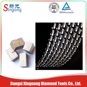 Manufacturer Diamond Segment for Stone Blade pictures & photos
