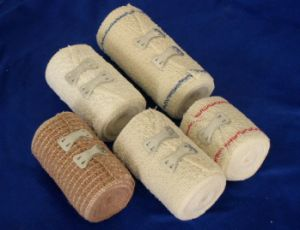 High Quality Medical Cotton High Elastic Crepe Bandage pictures & photos