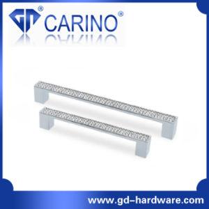 Fashtion Diamond Plate Zinc Furniture Handles (GDC2506) pictures & photos