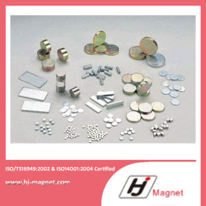 Super Power N32-N55 Permanant Magnet with NdFeB Material for Motor