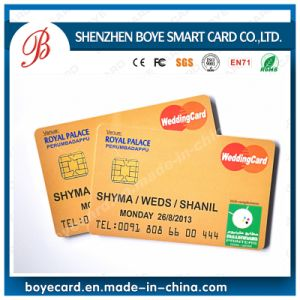 SGS Passed Contact IC Chip Card for ID Tk4100 pictures & photos
