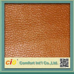 Fashion Good Quality Multicolor Pearly Wet PU Sofa Car Seat Leather (CIGD1N029) pictures & photos
