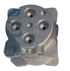 Alu Die Casting Parts-Cover for Housing Decoration