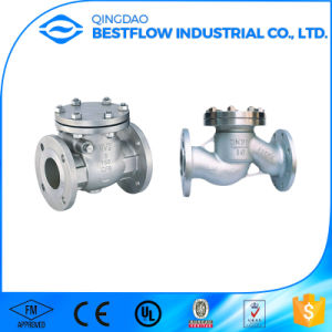 API 6D Cast Steel Swing Check Valve pictures & photos