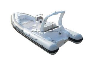 Aqualand 19feet 5.8m Rigid Inflatable Fishing Boat/Rib Motor Boat (rib580s) pictures & photos