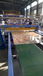 Marble Plastic Sheet Faux Marble Sheet Making Machine Line pictures & photos