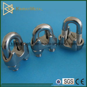 Stainless Steel DIN741 Wire Rope Clip pictures & photos