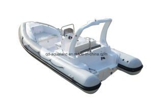Aqualand 19feet Rigid Inflatable Fishing Boat/Rib Sport Boat (RIB580S) pictures & photos
