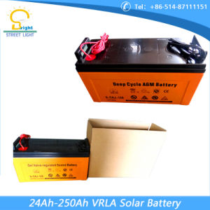 Solar Battery 120ah 12V (6-CAJ-120) pictures & photos