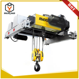 12.5 Ton Double Girder Wire Rope Electric Hoist (MLER12.5-06D) pictures & photos