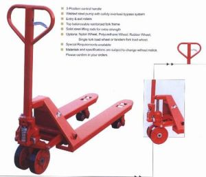 Hydraulic Hand Pallet Truck, Hydraulic Stacker, Hand Lift pictures & photos