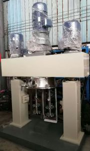 Vacuum High Speed Mixing Machinery Acetic Silicone Sealant Mixer pictures & photos