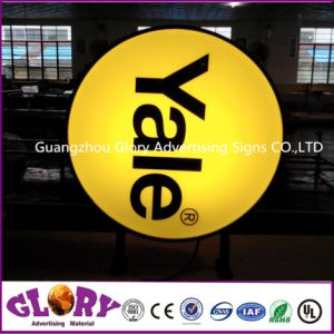 Outdoor Plastic Forming Double-Side High Quality Outdoor Light Box Signs pictures & photos