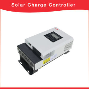 LCD Display Max 3000W Output 48V 60A MPPT Solar Charge Controller pictures & photos