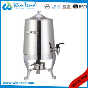 Commercial Hotel Restaurant Stainless Steel Portable Manual Hot Drinks Urn with Stand Base pictures & photos