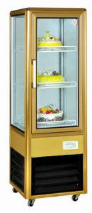 Single Door Aluminum Commercial Restaurant Cake Display Showcase pictures & photos