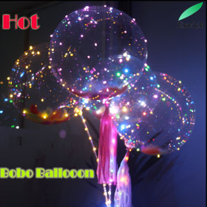 Clear Foil Bobo Balloon LED Christmas String Light 2017 Crazing Selling pictures & photos