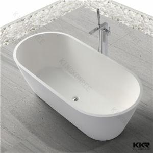 Bathroom Sanitaryware Corian Solid Surface Freestanding Bathtub pictures & photos