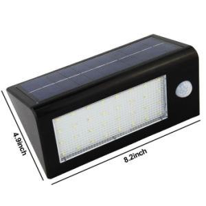 Solar Power Motion Sensor 32 LED Solar Light Outdoor Lighting Garden Yard Security Wall Lamp Waterproof IP65 pictures & photos