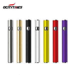 Fashion Style E-Cigarette Slim 350mAh Preheat Adjustable Voltage 510 Battery pictures & photos