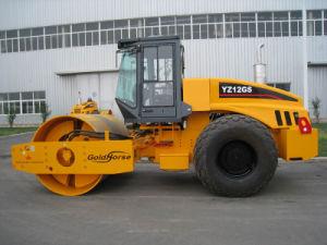 Full Hydraulic Single Drum Vibratory Roller (YZ12GS)