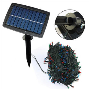 300LEDs 30m Solar LED Mini Rice String Light for Outdoor Decoration pictures & photos