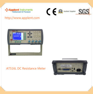 Ohm Meter with 10 Micro Ohm to 200k Ohm Measuring Range (AT2511) pictures & photos
