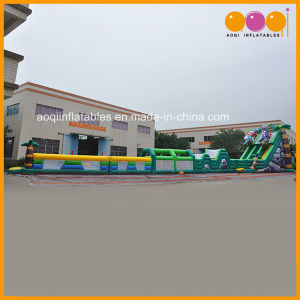 Obstacle Course Inflatable Tropical Grand Combination Game (AQ01698) pictures & photos