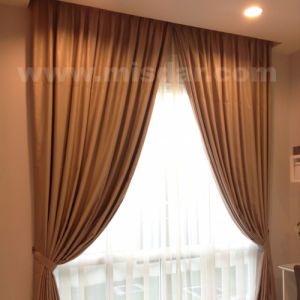 Electric Curtain System with Home Automatic pictures & photos