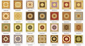 New Design Polished Golden Carpet Tiles with Cheap Price (BDJ60523-1) pictures & photos