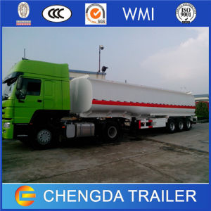 3 Axles China Made 42, 000L Oil Fuel Tanker Trailers pictures & photos