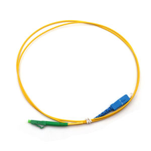 Optical Fiber Cable Indoor LC/Sc Monomodale /Single Mode Simplex Fiber Optic Patch Cord pictures & photos