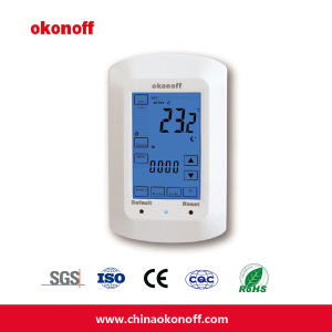CE Programmable Electrical Floor Heating Touch Screen Thermostat (TSP730PE) pictures & photos