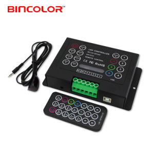 Programmable RGB LED Controller with IR Remote Control (BC-380-6A)