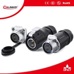 2pin Waterproof Connector/Power Connector IP67 pictures & photos
