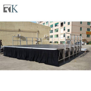 Rk Hottest Indoor & Outdoor Aluminum Stage/Portable Stage for Event Show pictures & photos