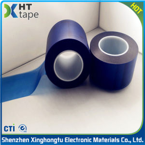 PVC Transparent Blue Protective Film for Steel Aluminum pictures & photos
