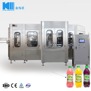 Automatic Fruit Juice Filling Machine (RCGF)