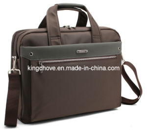Latest New Nylon with Long Shoulderstrap Computer Handbag (KCM24) pictures & photos